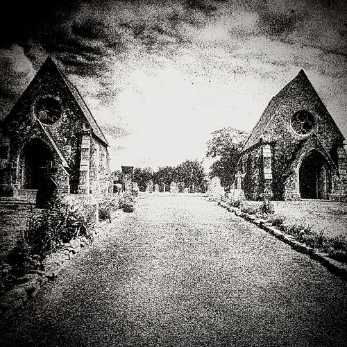 St Columb Major Cemetery Cornwall edited with Snapseed