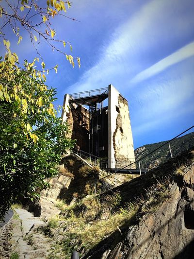 Historic tower Andorra Encamp Discovering New Places Medieval Architecture Torre Del Moro Architecture Building Exterior History Low Angle View Cloud - Sky Built Structure Old Ruin Old Tower Ruins