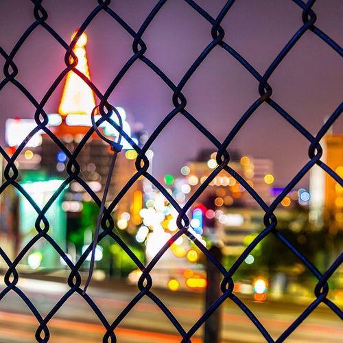 Fence Galore Losangeles_la Cities At Night Los Ángeles Los Angeles, California TurnUpTheBrightness