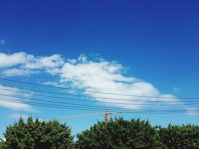 너무도 맑은 하늘 !! 이사하기 정말 좋은 날이었다 ^.^ Enjoying Life Beautiful Sky Blue Sky I Love It Happy The Life
