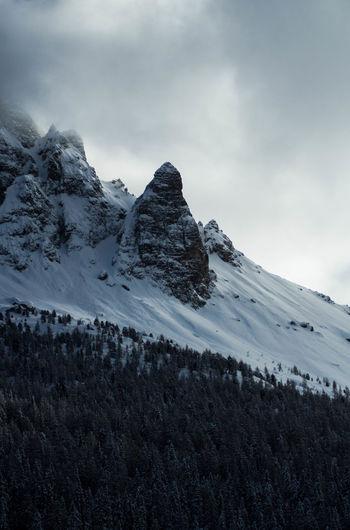 Some beautiful peaks in misurina