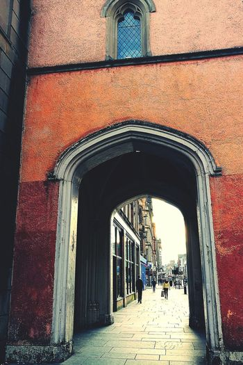 Trongate Glasgow Architecture History Building Exterior Arch Built Structure Day Outdoors City Streetphotography Streetlife Walking Home Eveninginthecity Sandstone Tower