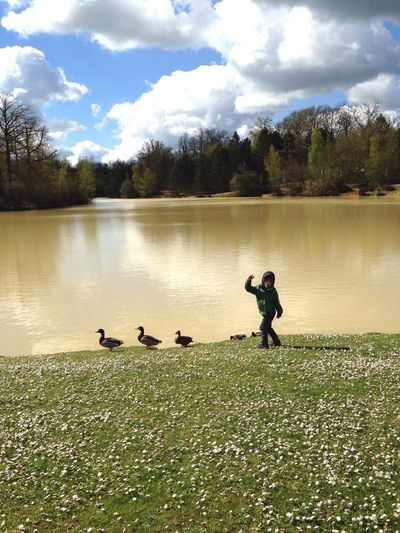 Enjoying Life Check This Out My Son Central Park Center Parcs Duck Ducks Holiday