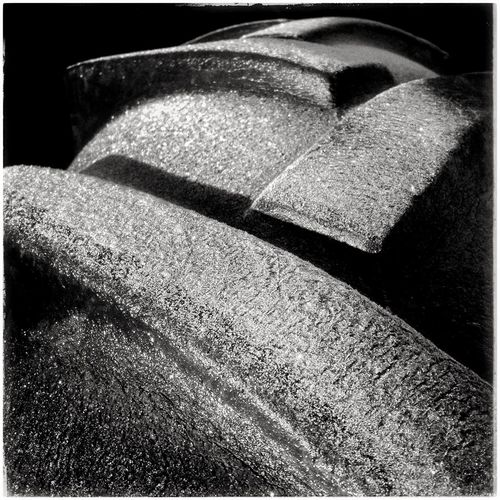 Frosted tractor tyre, Spain. Frost Frosted Frosty Frosty Morning Frosty Mornings Frosty Pattern Outdoors SPAIN Spain♥ Sunlight Tractor Tractors Tyre Weather Weather Photography