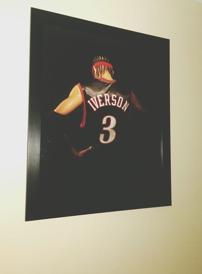 On my wall !! Iverson