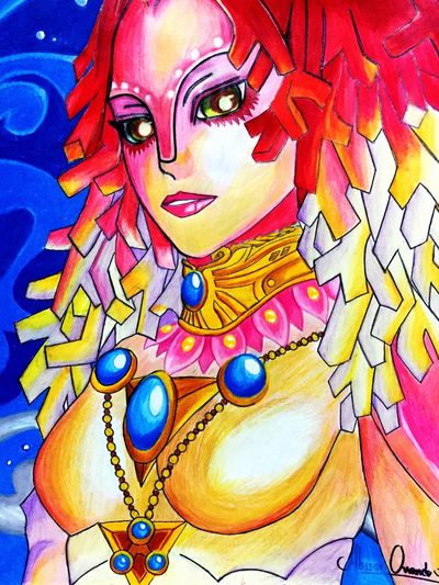 Rutela... If you've played Zelda you'll recognize her. Had fun drawing her. Check This Out Fantasy Art Zelda