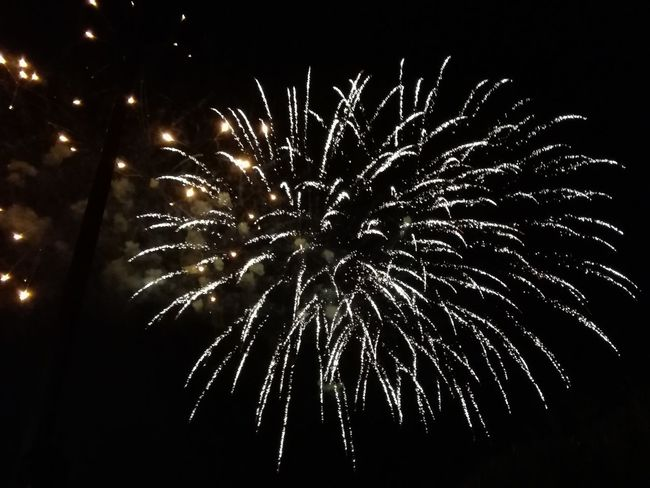 Fireworks, feux d'artifice, 14 juillet, france, Lights, Celebration Firework Display Illuminated Glowing Outdoors Traditional Festival Night