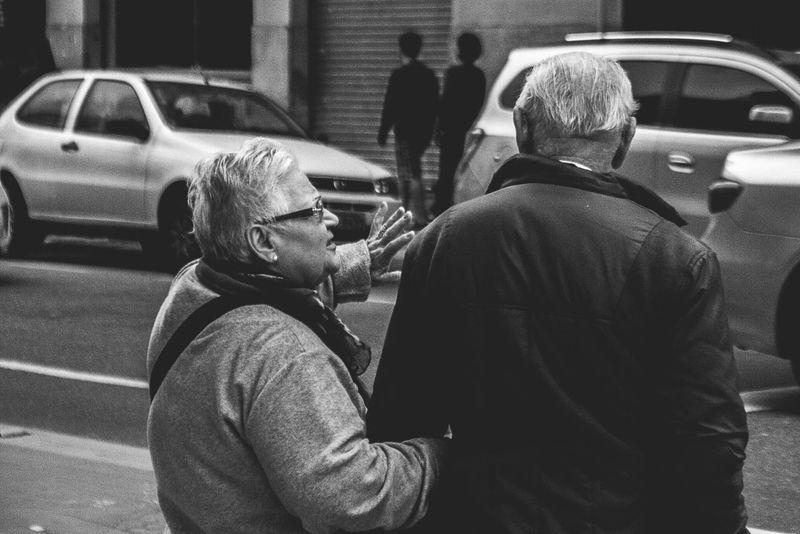 Conselho / Streetphotography OpenEdit EyeEm Best Shots Saopaulo Brazil Oldpeople Blackandwhite Frombehind