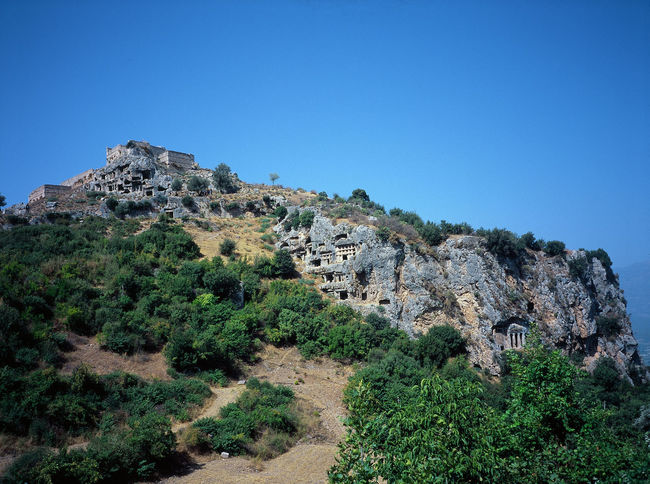 Ancient Civilization Architecture Fethie Lycian Lycian Tomb Tomb Turkey