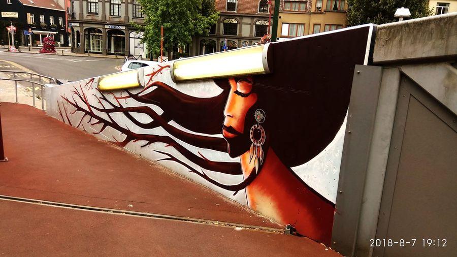 City Spray Paint Street Art Spraying