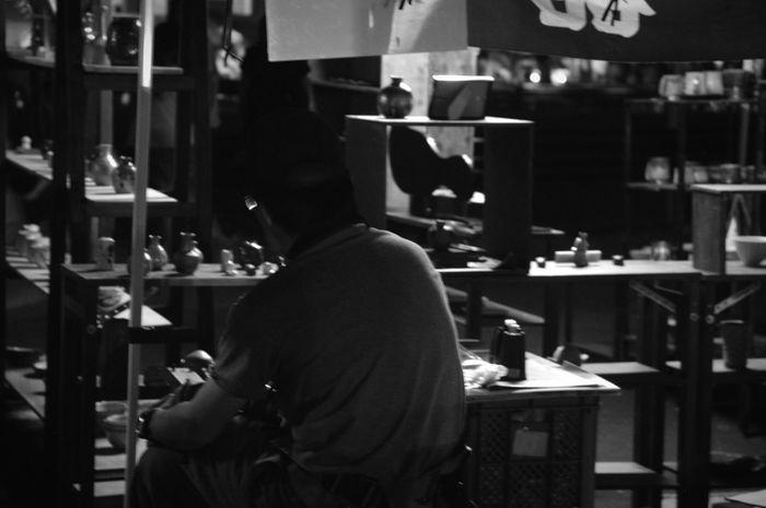 「せともの祭」 Seto せともの祭 瀬戸物 Night Monochrome Monochrome Photography