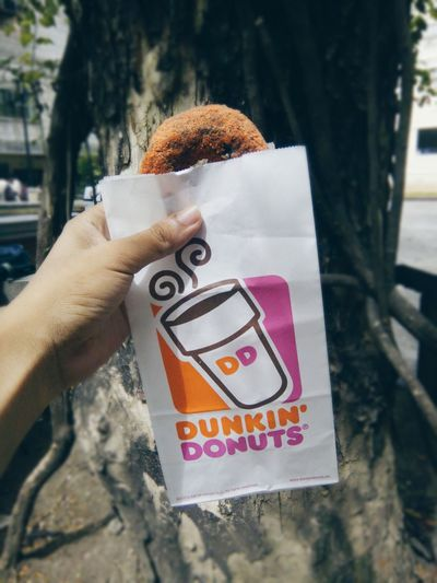 The ever famous choco butternut of dunkin donut 🍩 Foodporn Mec153pt2 Nuartapp Light Fillflash Depth Of Field TeamBahala