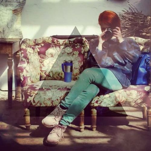 It`s Me Colorful Urban Fashion Redhair Caffee Hypster Open Edit Favorite Places Favorite Picture