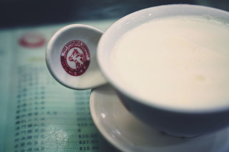 milk pudding From My Point Of View Capture The Moment Discoverhongkong Drink Food And Drink Refreshment Coffee Cup Coffee - Drink Frothy Drink Indoors  Close-up Freshness Froth Art Latte Breakfast Cappuccino Food Table Saucer No People Healthy Eating Day