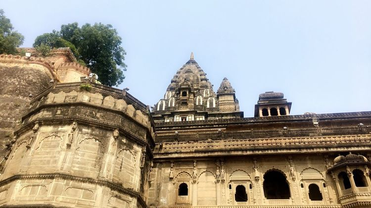 History Historical Building Maheshwar Travel Destinations Low Angle View Clear Sky Ancient Civilization India EyeEmNewHere EyeEm Best Shots