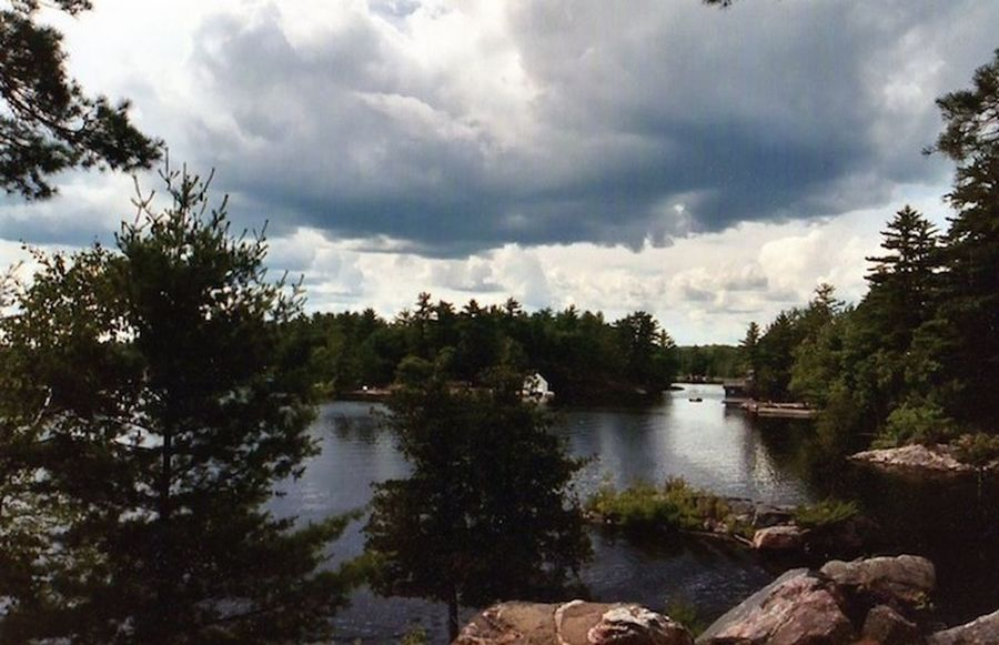 Lookout Point Beauty In Nature Cloud - Sky No People Outdoors Scenics Sky Storm Cloud Tranquility Water