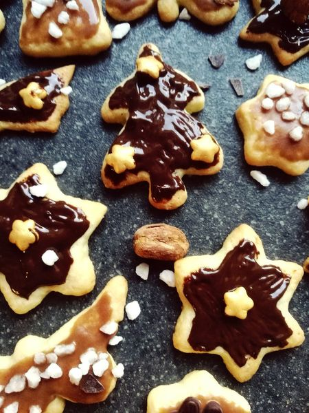 Preparation for christmas 😊 Christmastime High Angle View Sweet Food Dessert Baked Christmas Homemade No People Food And Drink Cookies Baking Time Biscuit Time Enjoy The New Normal Always Be Cozy Handmade For You Art Is Everywhere Colour Your Horizn
