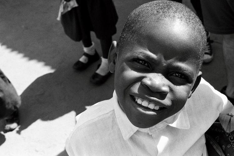 Curiosity Uganda  Eyes Film Photography Analogue Photography Headshot Ilford HP5 Plus Minolta XG-M 50mm 1.4