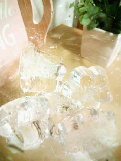 Flower Ice Cube Enjoy De Little Thing Home Is Where The Art Is Crystal Clear By NaughtyBaywatch
