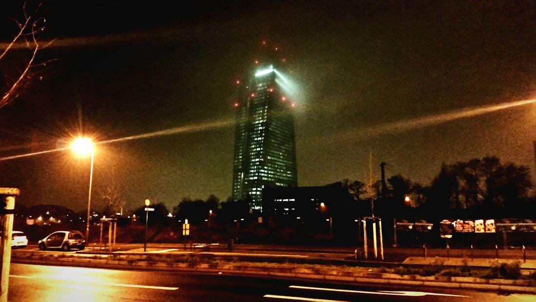 EZB Frankfurt am Main, Silvester 2015