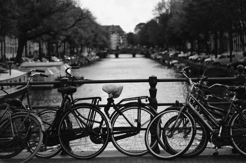 Bicycle Water Transportation Mode Of Transport Outdoors Day Lake No People Tranquility Stationary Sky Tree Nature Travel Destinations Brandon Woelfel GetbetterwithAlex Amsterdamcity Amsterdam Canals And Waterways Portrait Casual Clothing Adults Only Transportation Cycling City EyeEmNewHere The Week On EyeEm Been There. Done That. Connected By Travel Lost In The Landscape