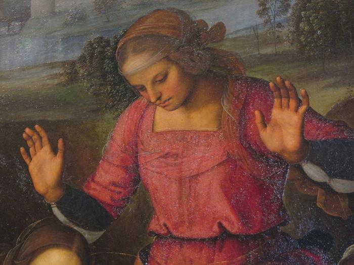 Art Compianto Sul Cristo Morto Palazzo Pitti, Particolare Perugino Reinaissance