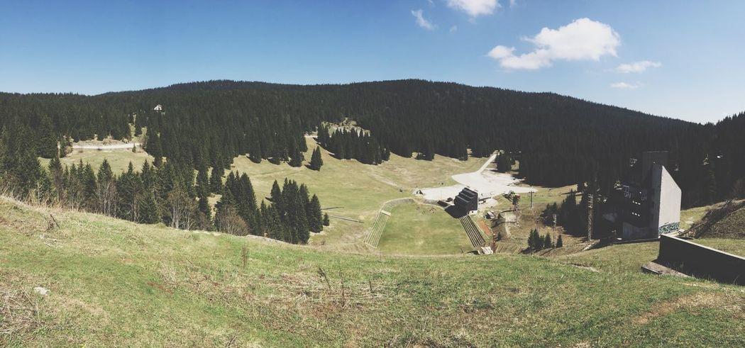 Bosnia And Herzegovina Panaramic Green