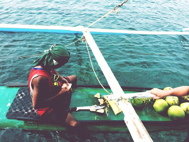 Filipinos work hard to feed their families. Even if it takes a lot of hazard to them.