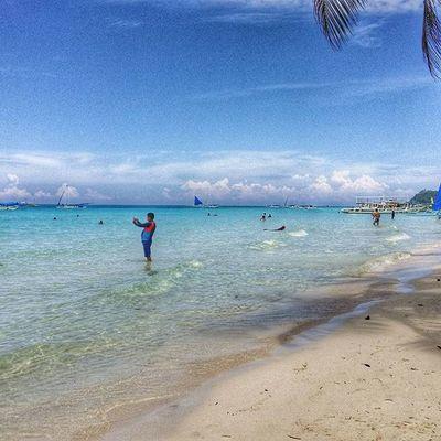 Iclickmoments Dailylifephotos DailyShots Beachlife Boracay2015❤️ Chillin
