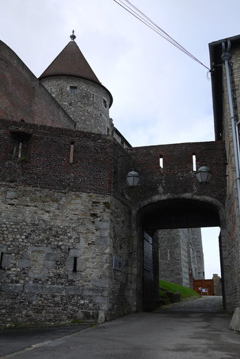 Architecture Building Exterior Castle Castle Gate Day Gate No People Outdoors Pointy Roof Sky