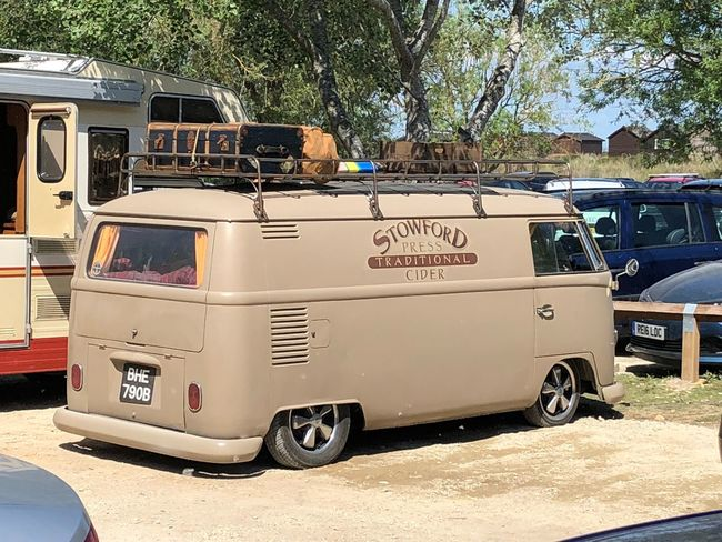 Slow and low that is the tempo VW VW Bus Mode Of Transportation Transportation Land Vehicle Motor Vehicle City Tree Street