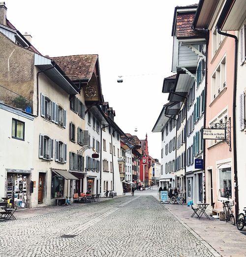 Aarau Switzerland Streetphotography Smallhouses