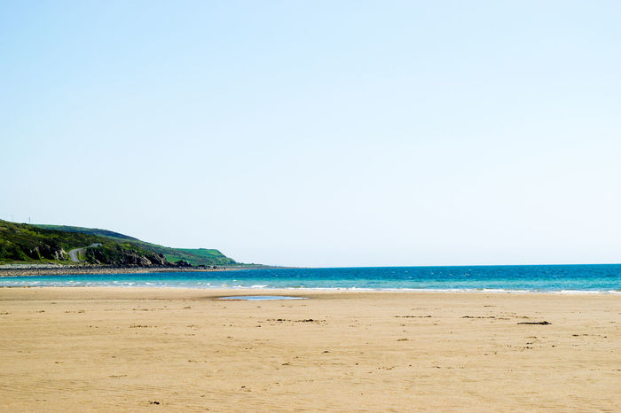 Beach Seaside Water Turquoise Water Sand Ocean Sea Summer Scotland Hill Day Holiday No People Grass Landscape Outdoors 43 Golden Moments