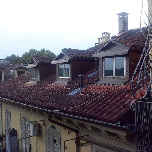Sui tetti.