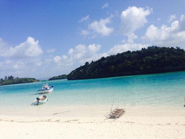 Okinawa Ishigaki  Island Beach Blue Wave
