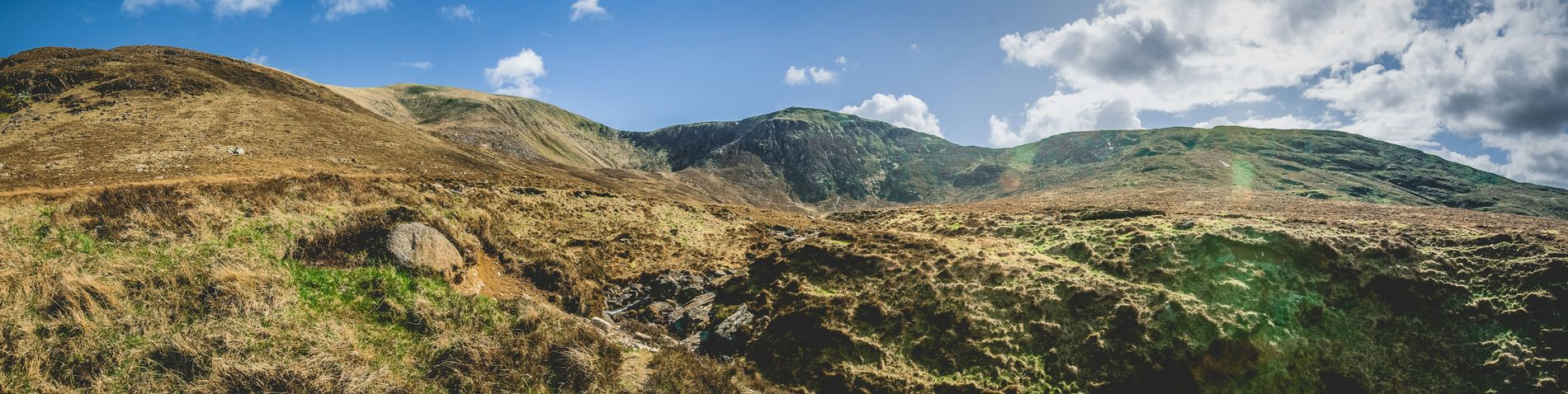 Mourne Mountains Panorama Mountain Newcastle Tollymore Forest Park