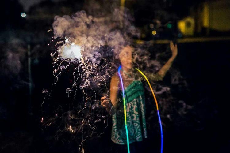 The 4th! Always fun. July4th Fireworks Eyeem Best Shots - Poeple + Portrait Zsphotos