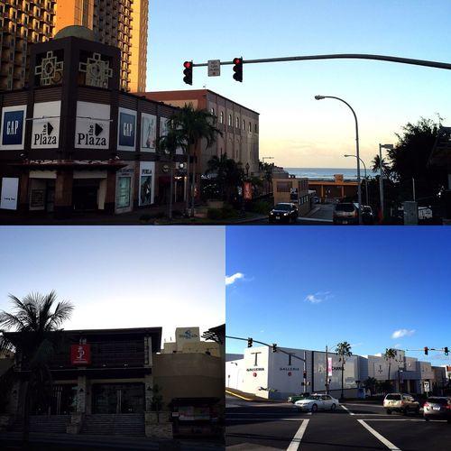 Hafa Adai! 朝ごはんにパンケーキ&エッグベネディクトをもりもり食べたあとは、ホテルに戻るまでの道のりをみちくさ。 グアムの中心街・タモンを撮りました◡̈✧ 奥のほうに見えるのは、タモン・ビーチ。 たくさんのショップが並んでいる交差点は、何度も通った道。 行き交う車たちも日本とは逆なので、なんだか新鮮な光景。 ホテルまでの道のり、もう少しみちくさして帰ろう。 つづく。 グアム Guam 旅行記 旅行 グアム日記 タモン Tumon みちくさ 風景 景色