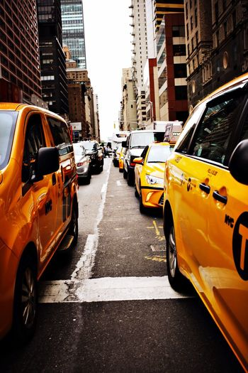 NewYork traffic Yellowcabs New York Newyorkcity Traffic