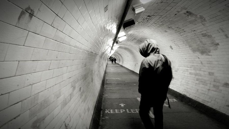 Tunel Imigrantes Tunel Underground Passage Underground Tunnel