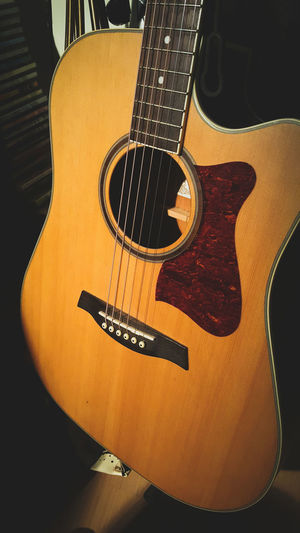 My First Acoustic Guitar. // Ibanez Acoustic Guitar