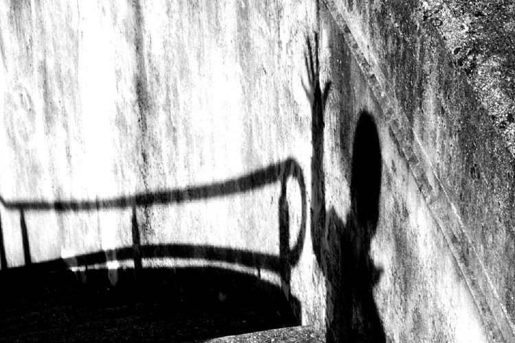 Shadow Human Light Architectural Detail Midsun Old Buildings Dirty Place Abbandoned