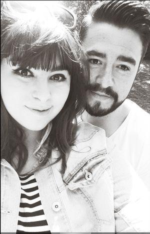 Taking Photos Boyfriend And Girlfriend Enjoying Life Beard