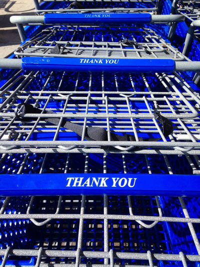 Shopping cart Backgrounds Blue Business Cart Close-up In A Row Metal Metallic Perspective Repetition Shopping Textured