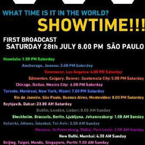 What time is ut un the world? It's show time folks! U2360 U2360BRA U2360SP