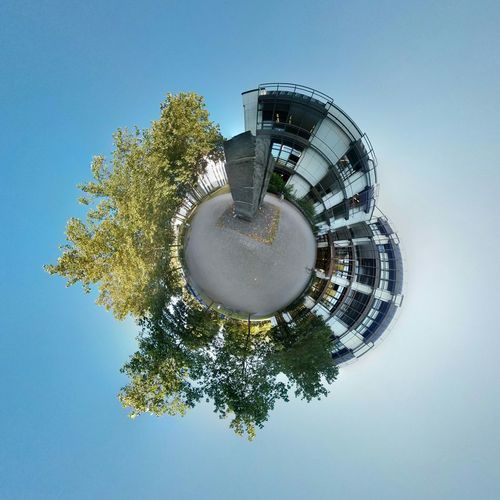 The Illusionist - 2014 EyeEm Awards Tinyplanet University Giessen