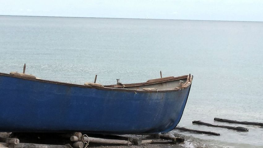 Black Sea♥ Boat Day Deterioration Horizon Over Water Nature No People Old Outdoors Run-down Sea Sky Tranquility Water