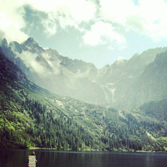 Morskieoko - Tatra Rockey Mountains in Poland