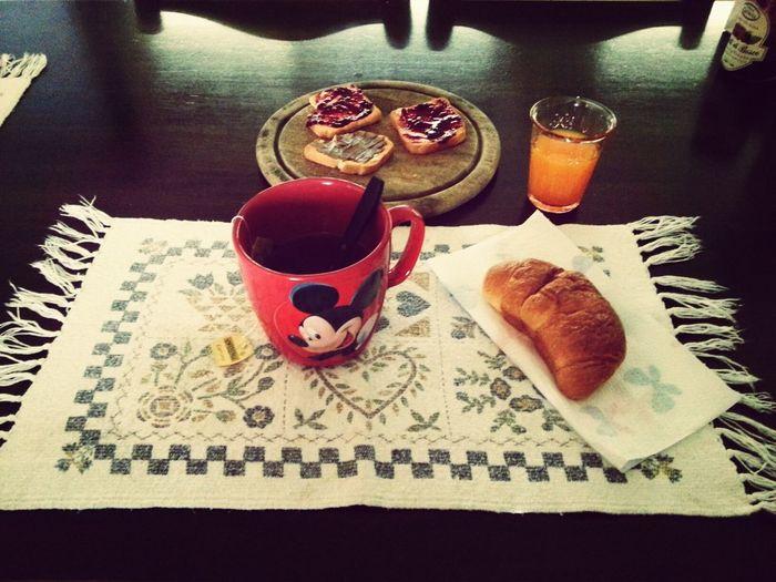 il buongiorno si vede dal mattino ♥