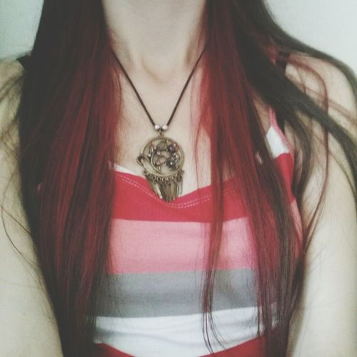 Red Hair Neckless